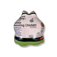 Sold as 1 whole roasting chicken. Package weights vary (5.15 - 5.50 lbs.) You will be charged accordingly.