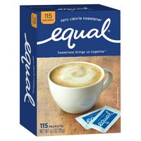 Equal Equal Sweetener - 0 Calorie, 4.06 Ounce