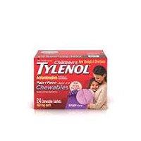 TYLENOL CHILDRENS Children's Tylenol Chewables, 24 Each