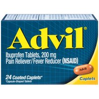 Advil Advil Ibuprofen Pain Relief/fever Reducer Caplets, 24 Each