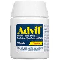 Advil Ibuprofen Pain Relief/fever Reducer Caplets, 50 Each