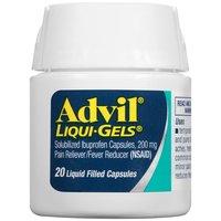 Advil Ibuprofen Pain Relief & Fever Liqui-gels, 20 Each