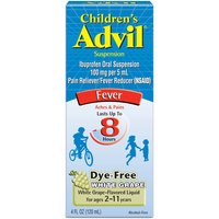Advil Fever Reducer & Pain Reliever Suspension, 4 Fluid ounce