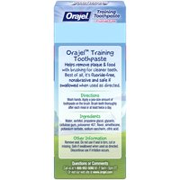 Orajel Orajel Training Toothpaste, 1.5 Ounce
