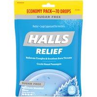 Halls Cough Suppressant/Oral Anesthetic - Menthol, 70 Each