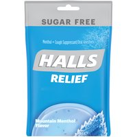 Halls Sugar Free Halls Sugar Free Menthol Cough Suppressant - Oral Anesthetic, 25 Each