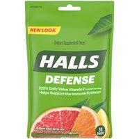 Halls Supplement Drops - Vitamin C Assorted Citrus, 30 Each
