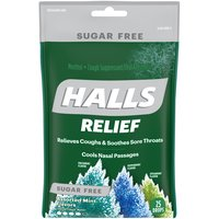 Halls Halls Cough Suppressant & Anesthetic - Assorted Mint, 25 Each