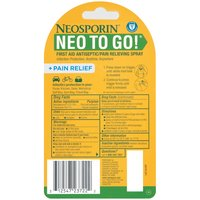 NEOSPORIN NEOSPORIN First Aid Antiseptic/Pain Relieving Spray ToGo, 0.26 Fluid ounce