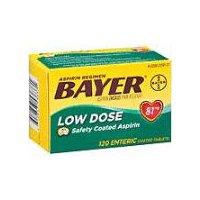 Bayer Aspirin Regimen Low Dose Safety Coated Tablets, 120 Each