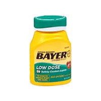 Bayer Low Dose 81mg Enteric Coated Tablets, 300 Each