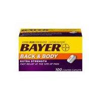 Bayer Back & Body, 100 Each