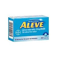 Aleve Aleve Naproxen Sodium 220mg Tablets, 24 Each