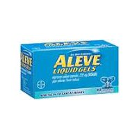 Aleve Naproxen Sodium 220mg Pain Reliever/Fever Reducer, 80 Each
