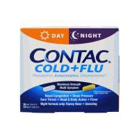 Contac Cold & Flu Day & Night Caplets, 28 Each