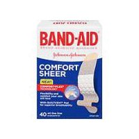 BAND-AID BRAND BAND-AID BRAND Adhesive Bandages Sheer, 40 Each
