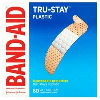 Band-Aid Brand Comfort-Flex Plastic Adhesive Bandages are more flexible so they stay in place to protect minor cuts and scrapes.