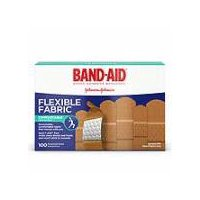 BAND-AID BRAND Flexible Fabric Adhesive Bandages, 100 Each
