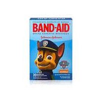 BAND-AID BRAND Adhesive Bandages Featuring Nickelodeon Paw Patrol, 20 Each