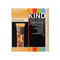 Kind Healthy Snacks Caramel Almond and Sea Salt Bar, 16.8 Ounce