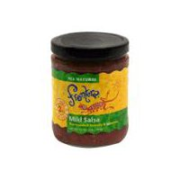with Mild Chiles. All natural. Net Carbs 2g. Fat-Free. No preservatives.