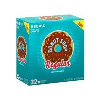 Green Mountain The Original Donut Shop K-Cup Pods - Value Pack, 32 Each