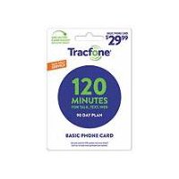 Tracfone Basic Phone Card - 120 Minutes / 90 Day Plan, 1 Each