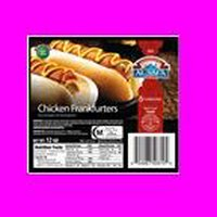 Al Safa Halal Frankfurters - Chicken, 12 Ounce