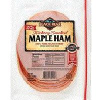Black Bear Hickory Smoked Maple Ham, 7 Ounce