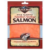 Black Bear Wild Alaskan Smoked Sockeye Salmon, 4 Ounce