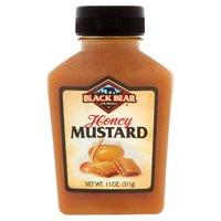 Black Bear Honey Mustard, 9 Ounce