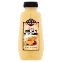 Black Bear Spicy Brown Mustard, 12 Ounce