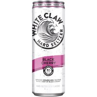 White Claw Spiked Sparkling Water with a Hint of Black Cherry, 12 Fluid ounce
