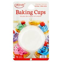 General Merchandise Baking Cups, 75 Each