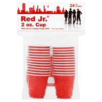 Lami Red Jr. Shoot Glasses, 24 Each