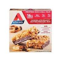 Atkins Meal Bar Chocolate Peanut Butter Pretzel, 240 Gram