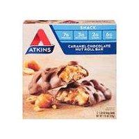 Atkins Advantage Bar Caramel Chocolate Nut Roll, 220 Gram