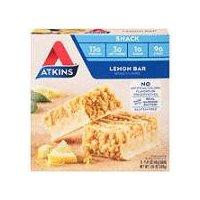 Atkins Light and Crispy Lemon Bar - 5 Pack, 5 Each