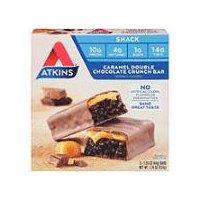 Atkins Advantage Bar - Caramel Double Chocolate, 8 Ounce
