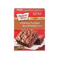 Duncan Hines Premium Chewy Fudge Brownie Mix, 520 Gram