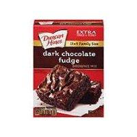 Duncan Hines Premium Dark Chocolate Fudge Brownie Mix, 515 Gram