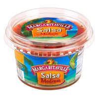 Margaritaville Foods Salsa Dip - Medium With Pepperdew, 16 Ounce