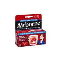 Airborne Airborne Very Berry Immune Support Supplement, 10 Each