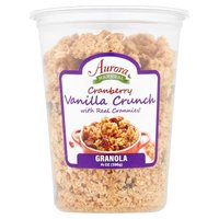 Aurora Products Inc. Granola - Cranberry Vanilla Crunch, 14 Ounce