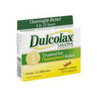 Dulcolax Laxative - Comfort Coated Tablets, 10 Each