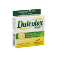 Dulcolax Laxative - Comfort Coated Tablets, 25 Each