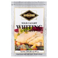 Cape Gourmet Individually Quick Frozen Kosher Whiting Fillets, 2 Pound
