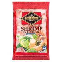 Cape Gourmet Cape Gourmet Shrimp, Large Cooked Tail-On, 32 Ounce