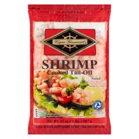 Cape Gourmet Shrimp, Salad Cooked Tail-Off, 32 Ounce