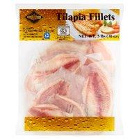 Cape Gourmet Tilapia Fillets, 80 Ounce